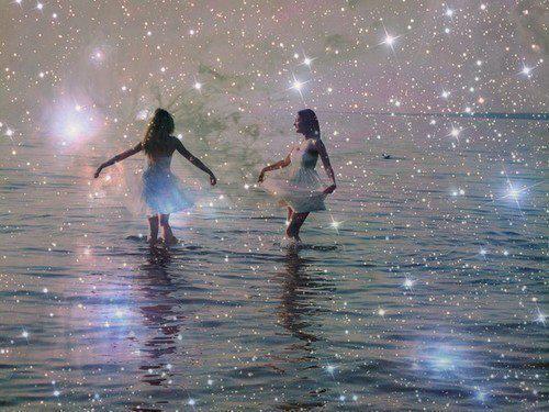 dancing in light