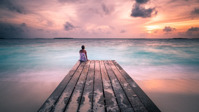 Peaceful Sunset - Maldives - Travel photography
